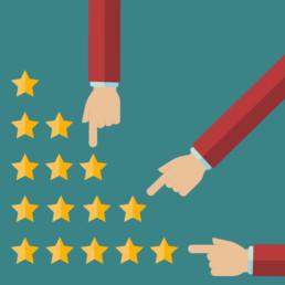 feedback dos clientes